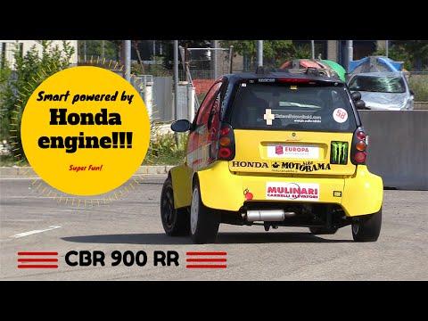 Smart powered by Honda CBR motorbike engine! - Super fun & Pure Sound!