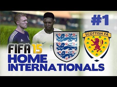 FIFA 15 - Home Internationals #1 - England v Scotland