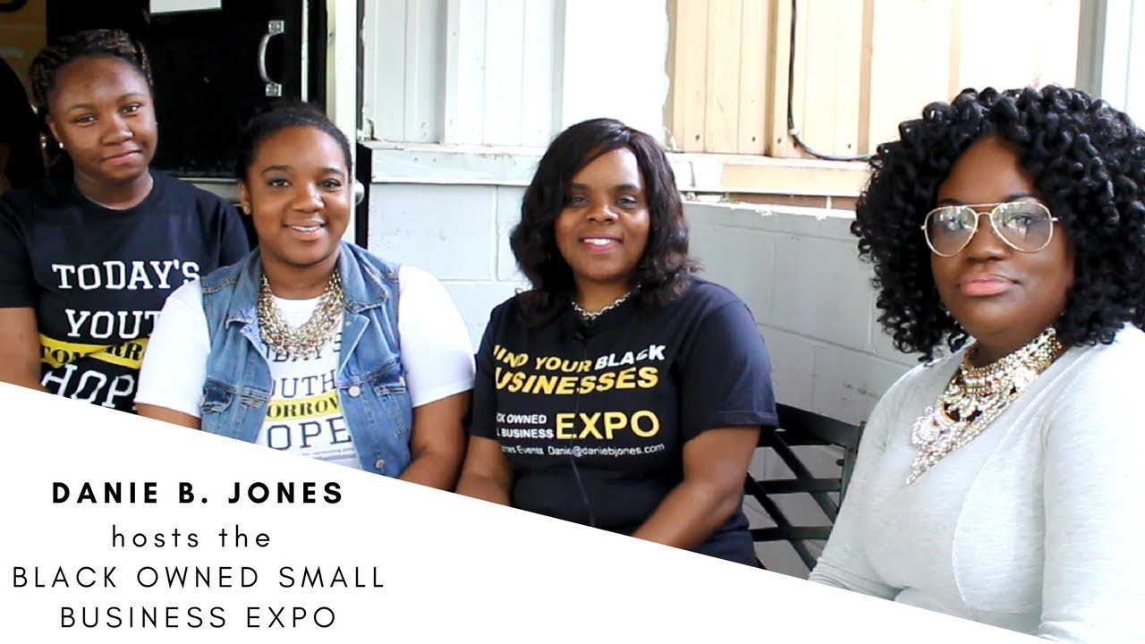 Danie B. Jones hosts the Black Owned Small Business Expo