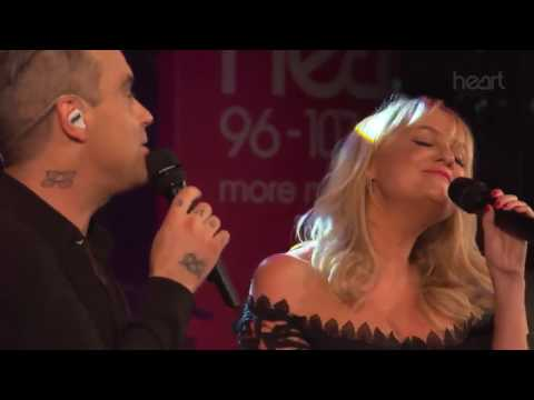 Robbie Williams & Emma Bunton - 2 Become 1 Live At Heart Radio
