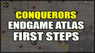 PATH of EXILE: Conquerors Atlas Endgame Guide - The First Steps - How to Hunt Conquerors & Progress