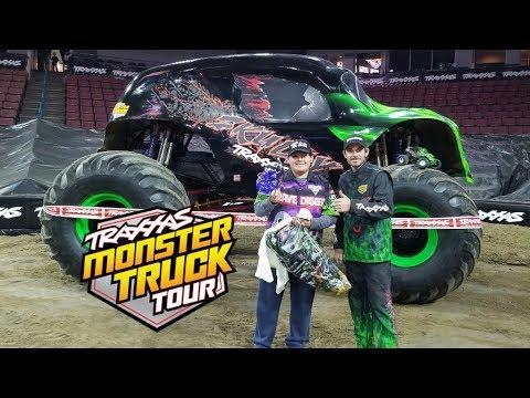Traxxas Monster Truck Tour Bakersfield, CA 2018 Vlog