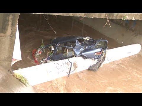 Tres muertos, tres desaparecidos por lluvias en México