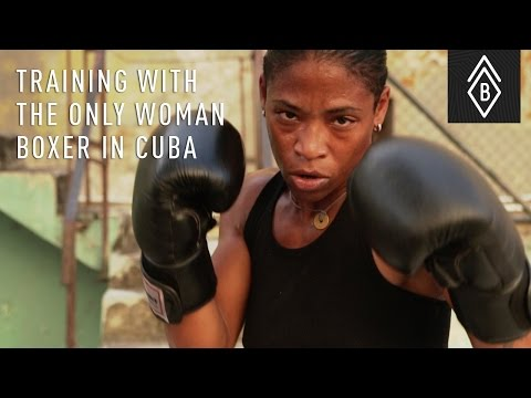 Training With The Only Woman Boxer Of Cuba