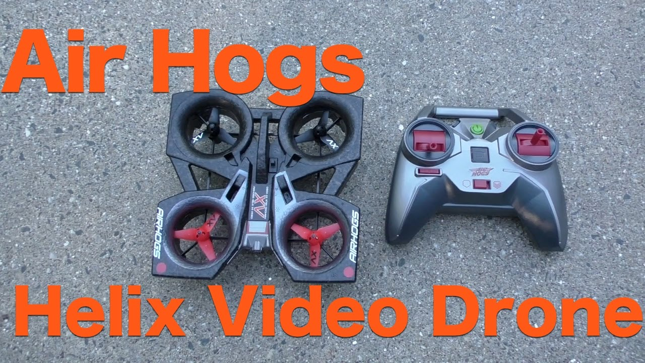 Air Hogs Helix Video Drone Review 60FPS Action Camera In A Quadcopter