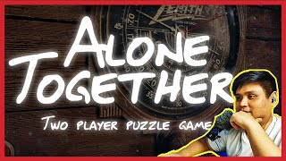 Online Escape Room Challenge!   Alone Together Play Through With Jo Serrano  Part 1  Gab's Vlog