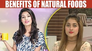 Natural Food Are Beneficial For Health - Mehekti Morning With Sundas Khan - 4 May 2018 - ATV