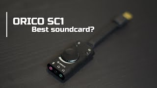 Universal sound card from China | ORICO SC1