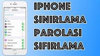 Iphone Sınırlama Şifresi Kırma
