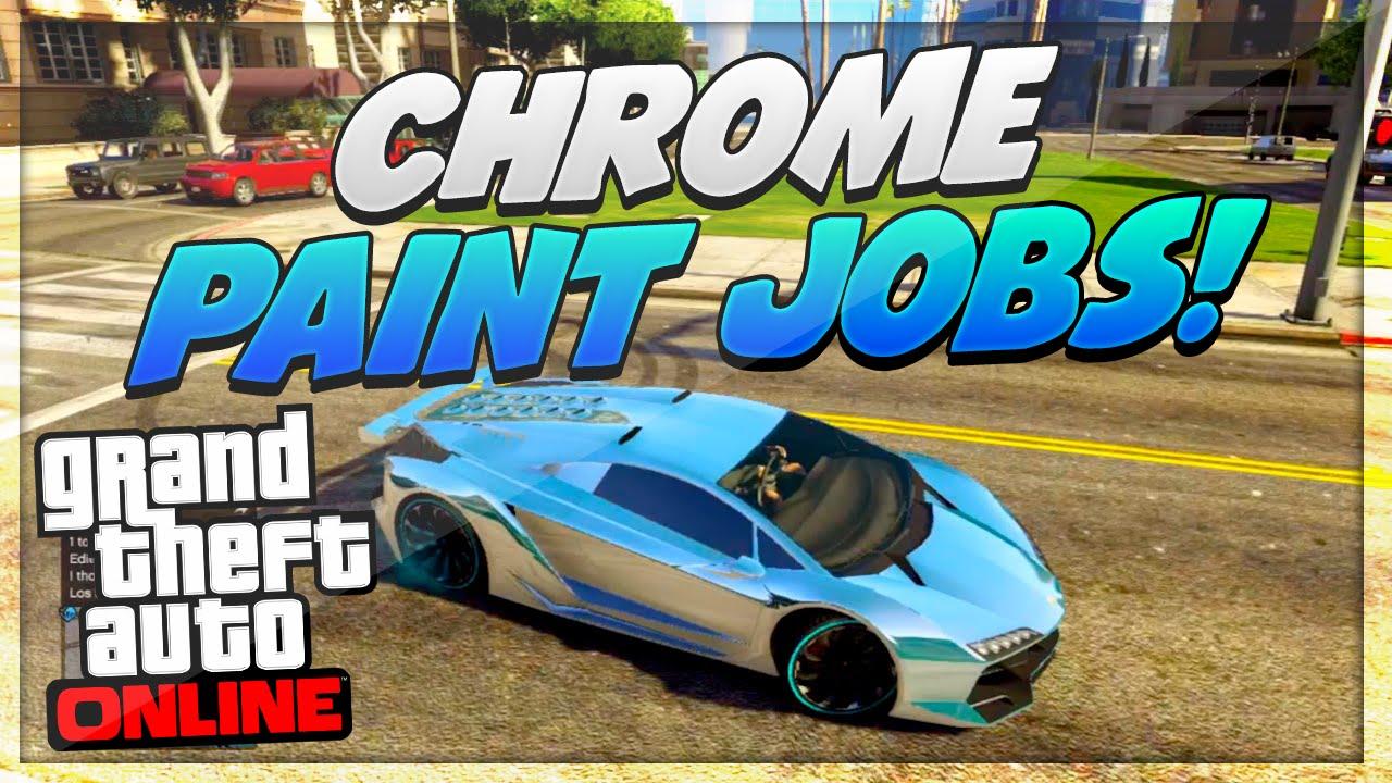 Gta 5 Paint Jobs Rare Colored Chrome Paint Jobs Gta 5