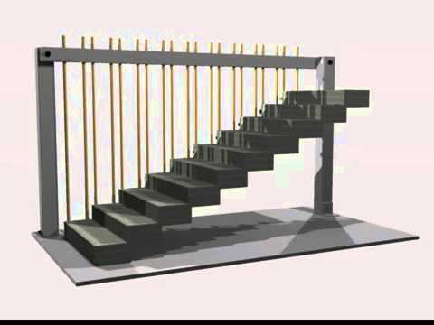 Cantilever Stairs Research Model
