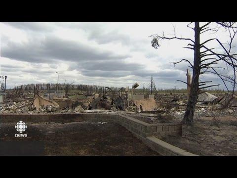 Inside Fort McMurray: Media gets glimpse at fire damage