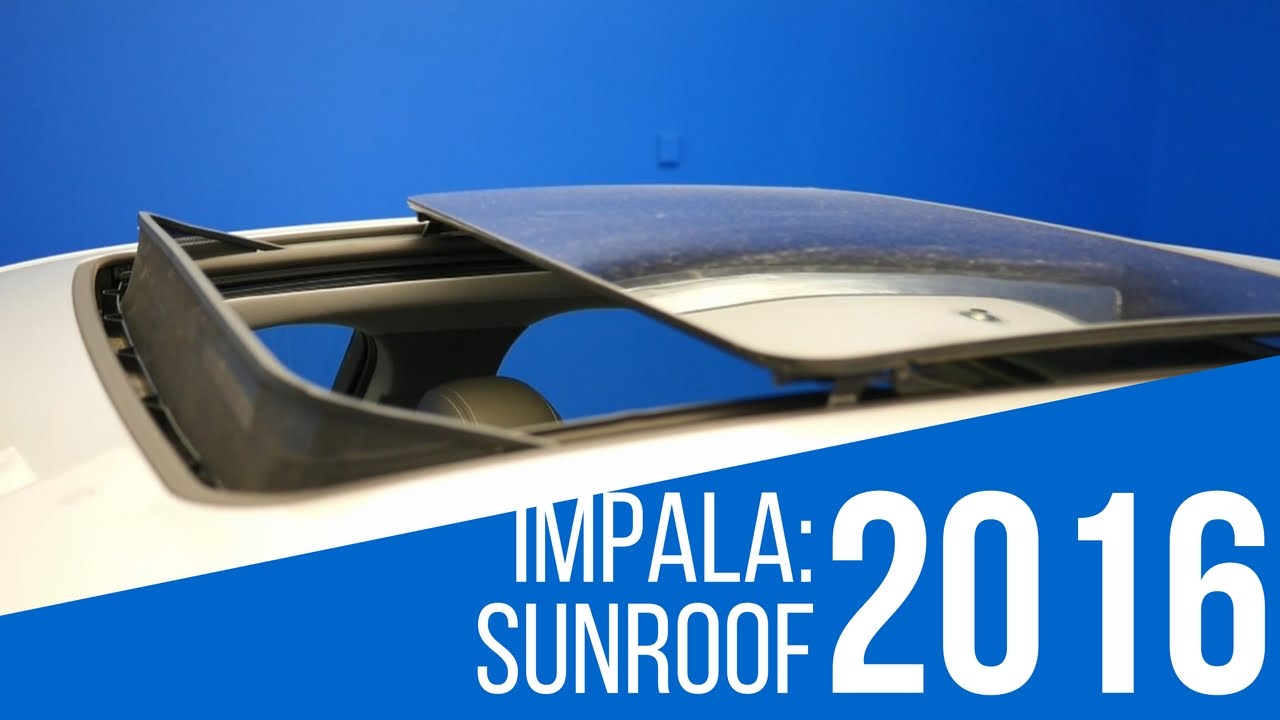 2016 Chevrolet Impala Sunroof