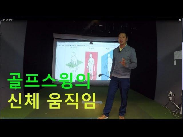 [골프레슨] 골프 스윙 시 신체 움직임 #골프스윙 #골프스윙원리 #신체움직임 #골프레슨 #이재형골프
