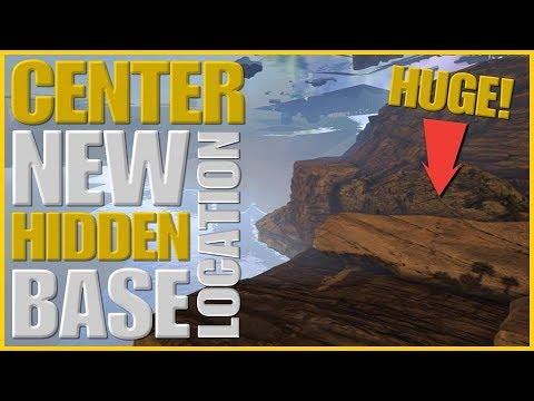 ARK NEW HUGE hidden base location on center !!!