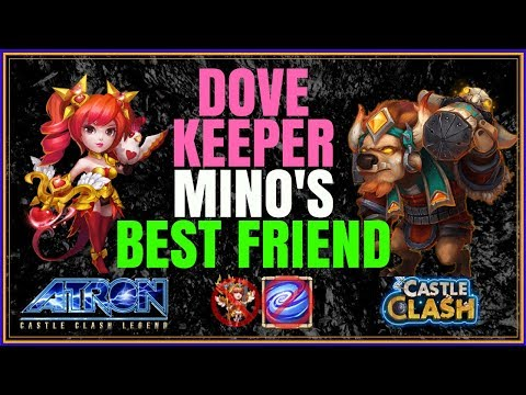 EXPLOITING DOVE KEEPER - MINO'S BEST FRIEND - GUILD WARS - CASTLE CLASH