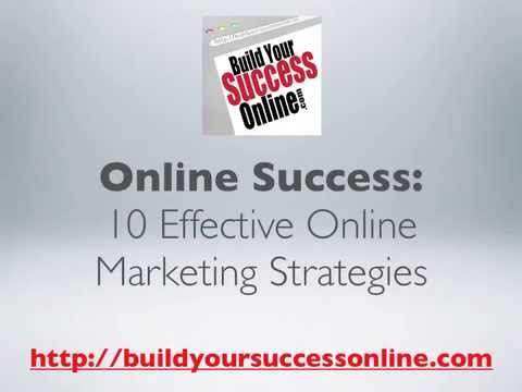 10 Effective Online Marketing Strategies