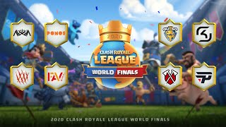 2020 Clash Royale League World Finals - Day 1 (English)