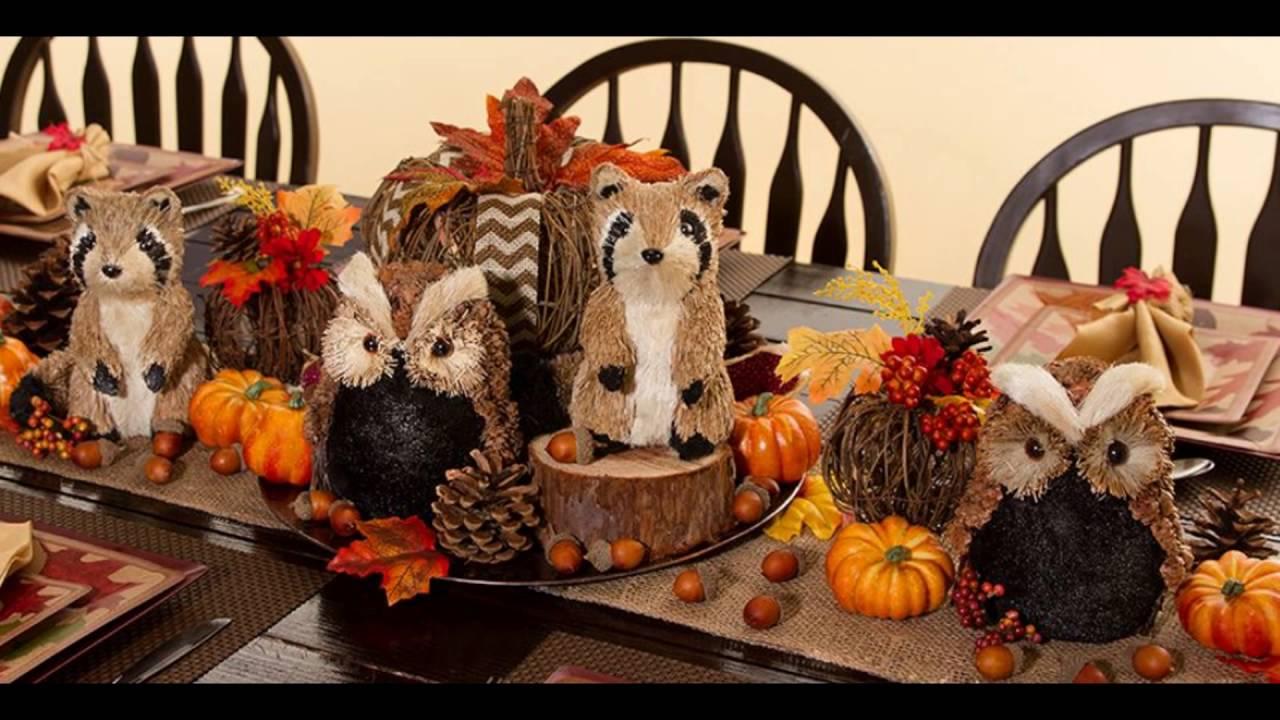 Delicieux Autumn Table Decorations Centerpieces