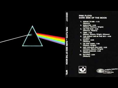 Pink Floyd - The Dark Side of the Moon Album Discography