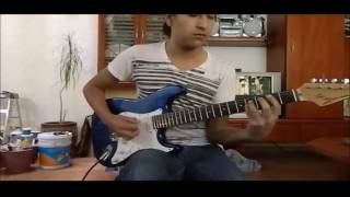 Back in Black - AC/DC. Guitar Cover (Cover by Gonzo)