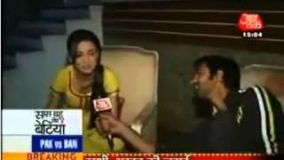 SBB 22nd Mar 2012  Barun & Sanaya Barun Interviews Sanaya