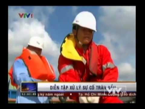 Diễn tập ứng phó sự cố tràn dầu, cứu hộ cứu nạn và chữa cháy trên sông - Truyền hình VTV1