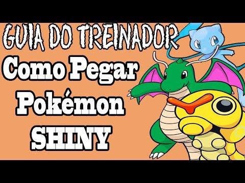 Pokémon - Como pegar um Pokémon Shiny?: [Guia do Treinador] - Pokémon - Como pegar um Pokémon Shiny?  [Menu]  0:14 - Introdução! 1:53 - Método Masuda  ( Funciona para antigas gerações) 4:40 - Método Fish Chain 7:51 - Método Pokéradar ( Funciona na 4ª Geração tbm) 12:42 - Método Encontro Aleatório - Res ( Funciona Nas Gerações Anteriores) 14:18 - Método Soft Reset ( Funciona Nas Gerações Anteriores) [ Zekrom Reshiram Xerneas e Yveltal não são compativeis com esse método)  14:36 - Método Sweet Scent  [FIM]  Antes de comentar saiba que :   É um guia mais focado para X e Y! Não é um vídeo sobre a historia dos pokémons shinys! A cálculos bem complexos a respeito dos Shinys antigamente, e não soma no conteúdo do vídeo!  Junichi Masuda é sim um dos membros que fundou a Game Freak! Qualquer duvida faça o favor de me perguntar evite brigas! Não sou obrigado a pronunciar um nome corretamente, o importante é você entender o que eu estou passando e eu tenho certeza que passei da melhor forma possível!  - Pokéradar, se vc tiver duvida e não saber para qual grama ir, é só ir 50 passos e resetar o pokéradar e clicar novamente. Lembre não saia do gramado!  Após a cadeia 40 no Pokéradar a chance aumenta, em algum momento a musica muda indicando que a chance aumentou, se vc resetar o pokéradar enquanto está no meio da segunda música ela volta ao normal, porém não quebra a cadeia!  - Obrigado Umagon por me dar um Shiny Kecleon de Presente!   Canal do Umagon: http://goo.gl/FRvSOE  - Obrigado Quincy pela ajuda com os pokémons !   Canal do Quincy: http://goo.gl/7IwJjy  Você é livre para me perguntar o que quiser, cuidado com ofensas não vou tolerar isso no canal vamos manter um debate amigável sem brigas, lembre isso não leva a nada!   - Facebook: http://migre.me/fF4zl - Twitter: https://twitter.com/CamaleaoGames - Music By GlitchxCity :http://migre.me/fWRS4  Pokemon Owned By Nintendo GameFreak.  This video is owned by Canal do Camaleão, unless images/music specified in above description