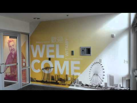 Knoxville Environmental Graphics - Scripps Networks Interactive Lobby