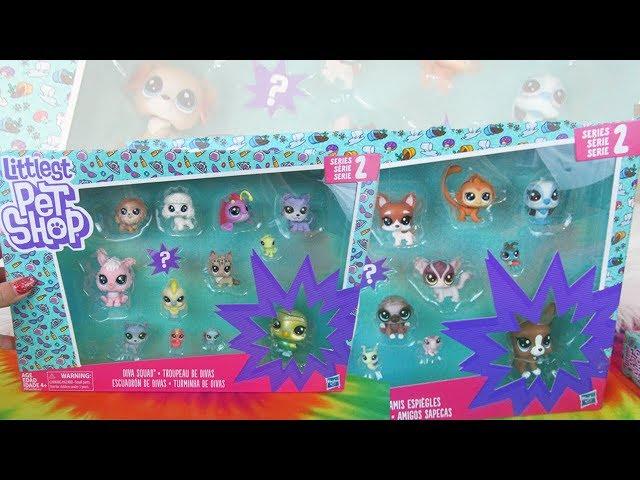 Series 2 Littlest Pet Shop Unboxing | New LPS Series 2 Toy Haul! Diva Squad & Mischief Pals