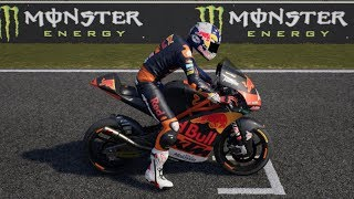MotoGP 18 - KTM RC250GP - Test Drive Gameplay (PC HD) [1080p60FPS]