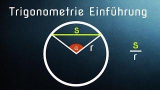 Trigonometrie Einführung und Entstehung / Geschichte