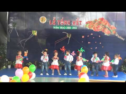 Trường MNTT Minh Đức - Minh họa bài hát đội kèn tí hon của các bé nhà trẻ năm học 2012 - 2013