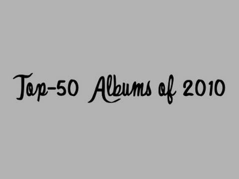 Top-50 Albums of 2010