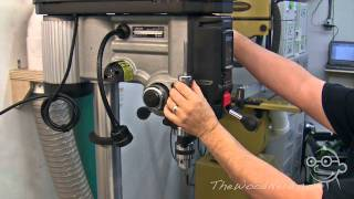Feature tour / review of the Delta 18-900L drill press