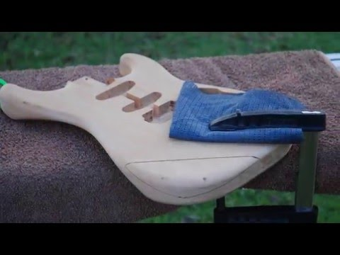 Custom Stratocaster Build From Scratch