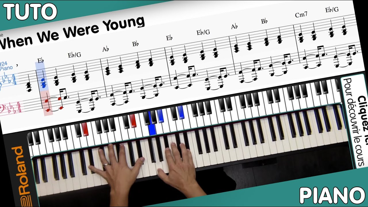 How to play adele when we were young piano sheet youtube how to play adele when we were young piano sheet hexwebz Image collections