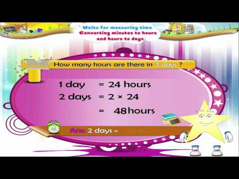 Learn Grade 3 - Maths - Units for Measuring Time