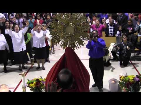 Hora Santa Con Padre Jose E Hoyos Blessed Sacrament Alexandria VA