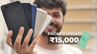 Which Phone to Buy Under INR 15000?