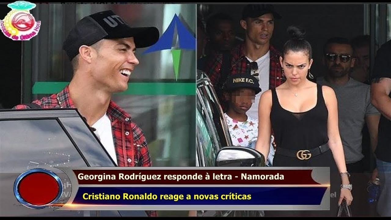 21a6faf2e094a Georgina Rodríguez responde à letra - Namorada Cristiano Ronaldo reage a novas  críticas