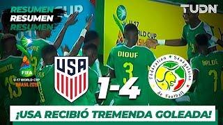 Todos los Goles | USA 1 - 4 Senegal | Mundial Brasil Sub 17 - J 1 | TUDN