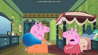 Свинка Пеппа мультфильм - Пеппа беременная, Мама Свинка доктор делает ей укол и....