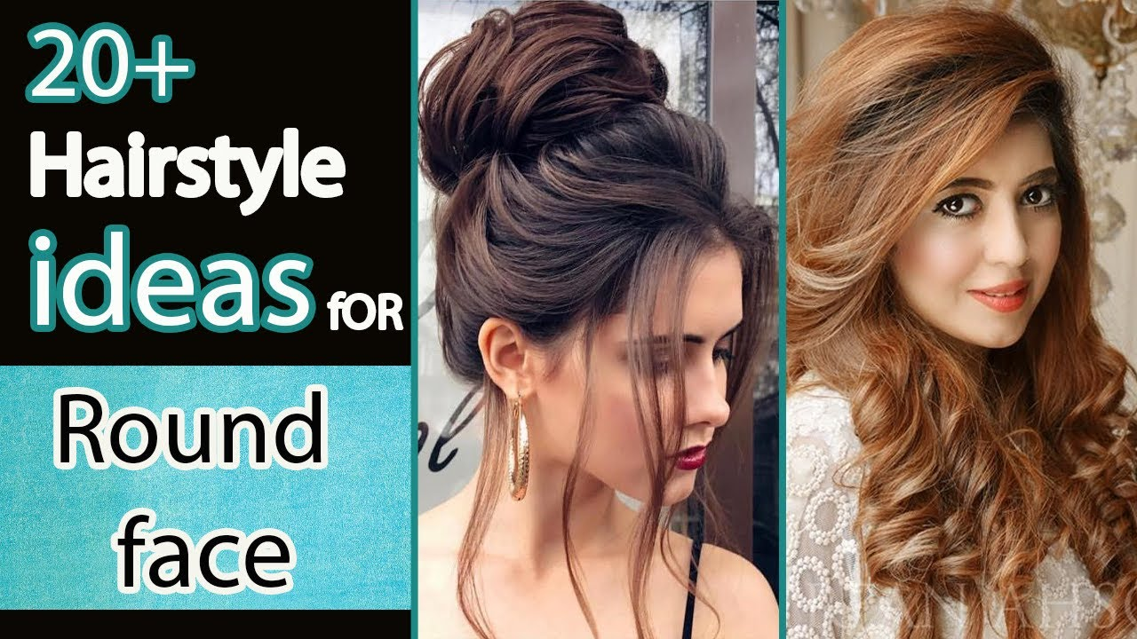 20 Hairstyle Ideas For Round Face Simple Hairstyle For Round Face Girls In Hindi Urdu Youtube