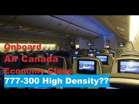Air Canada | 777-300ER in Economy Hong Kong to Vancouver HKG-YVR