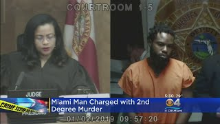 Miami Man Charged With Murder