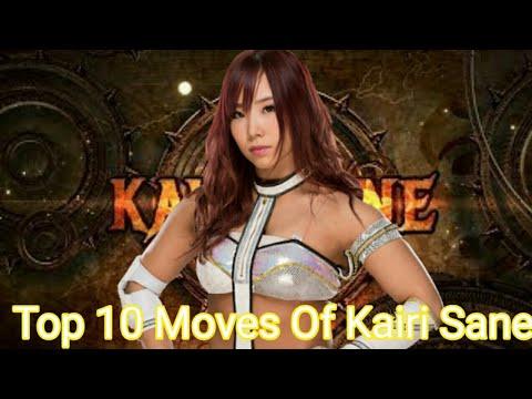 Top 10 Moves Of Kairi Sane#PiratesPrincess#