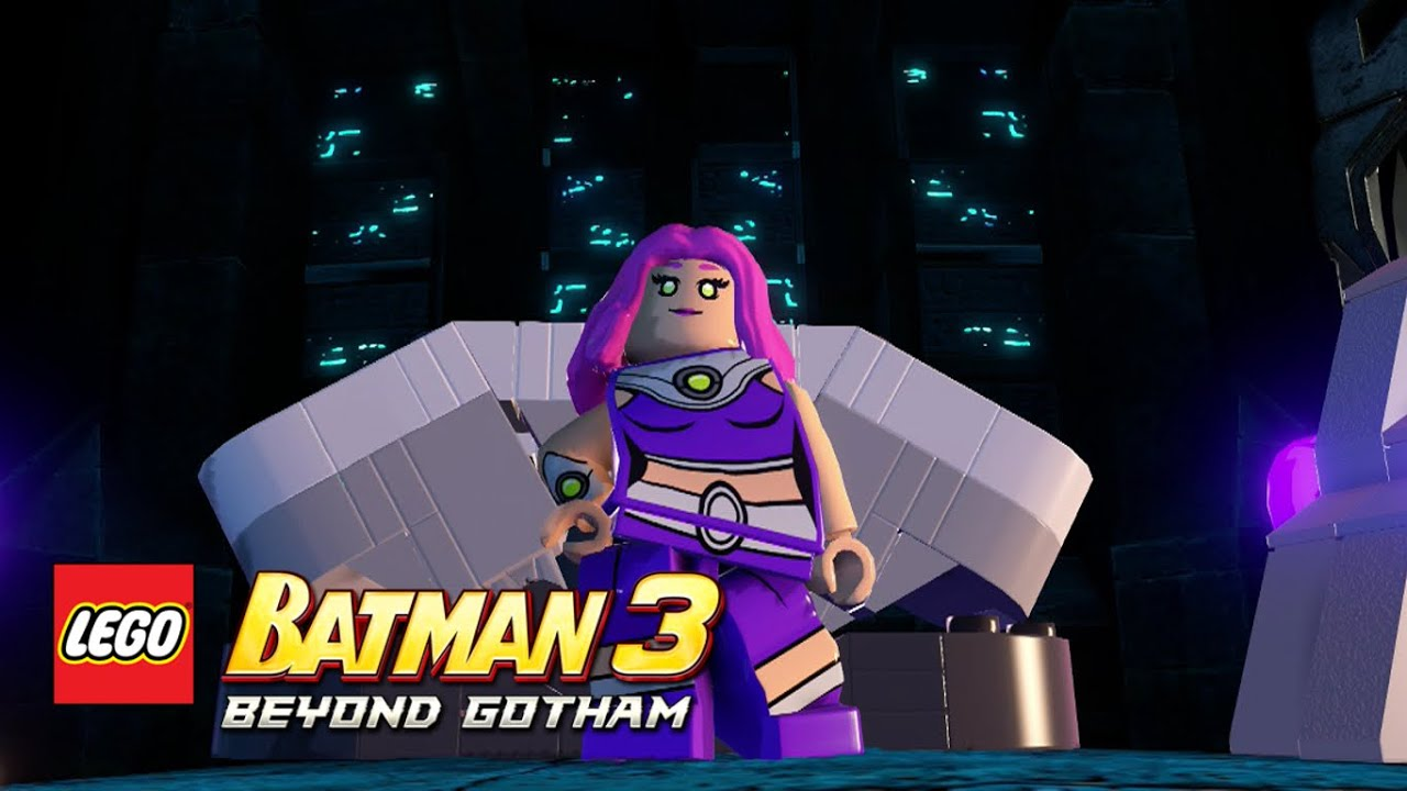 LEGO Batman 3: Beyond Gotham - Starfire Nok free roam ...
