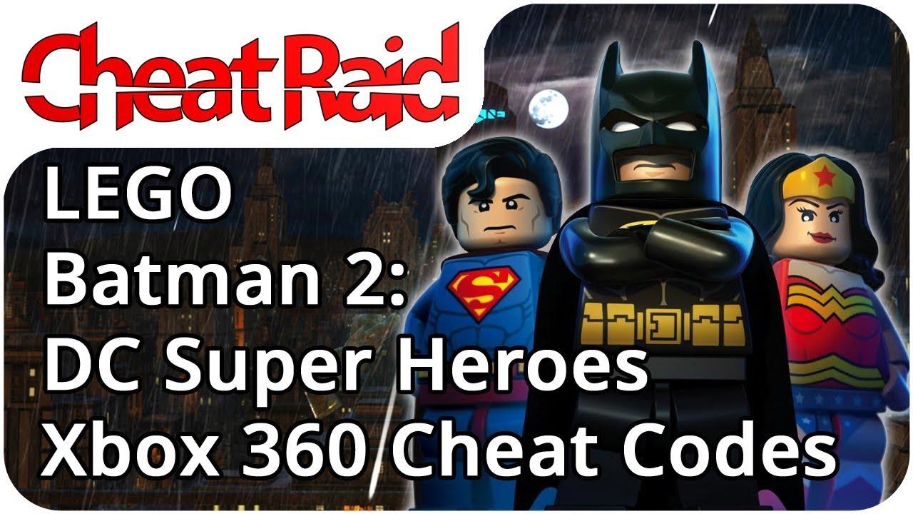 Lego Batman 2 Dc Super Heroes Cheat Codes Xbox 360 Youtube