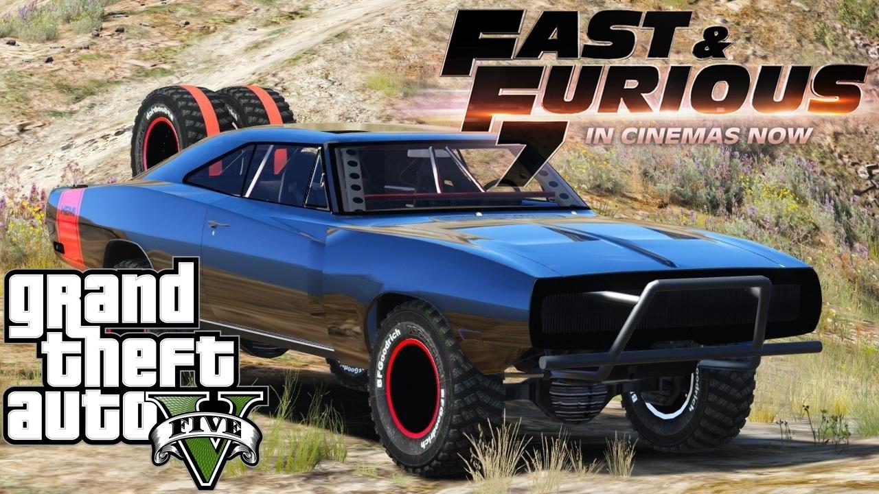 GTA V ทำฉากจบ Fast & Furious 7